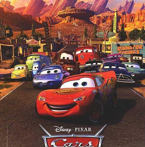 Affiche Disney Cars